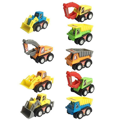 Best Toy Cars for Toddlers Construction Pull Back Vehicles