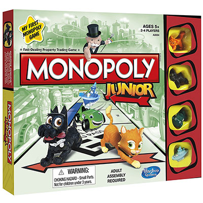 Best Board Games for Kids Monopoly Junior