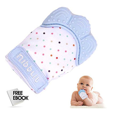 Best Teething Toys for Babies Nibblit Baby Teething Mitten