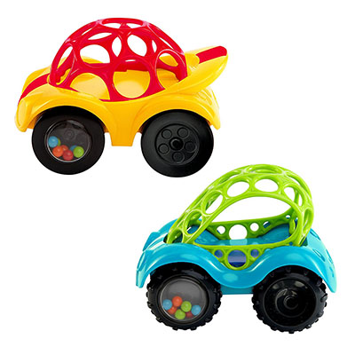 Best Toy Cars for Toddlers O Ball Rattle & Roll Car