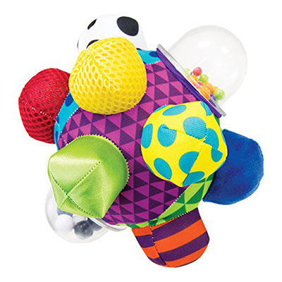 Best Developmental Toys for Babies Sassy Developmental Bumpy Ball