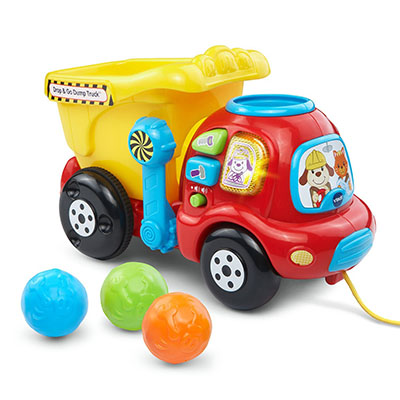 Best Toy Cars for Toddlers VTech Drop and Go Dump Truck