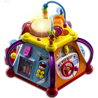 Best Developmental Toys for Babies WolVol Cube Play Center