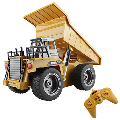 Best Remote Control Cars for Kids 2.4G Alloy Remote Control Dump Truck – Fisca
