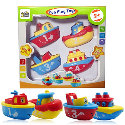 Best Bath Toys for Toddlers 3 Bees & Me Magnet Boat Set