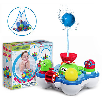 Best Bath Toys for Toddlers Baby Bath Toys for Kids - Whale Island