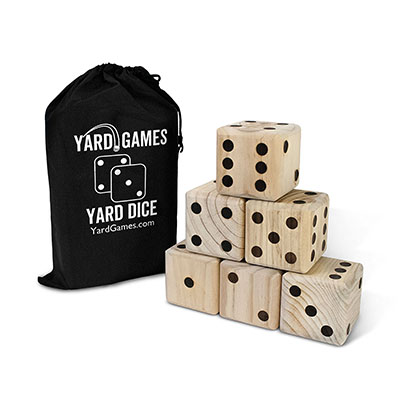 Best Outdoor Toys for 6 Year Olds Giant Wood Yard Dice