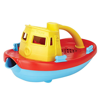 Best Bath Toys for Toddlers Green Toys My First Tug Boat