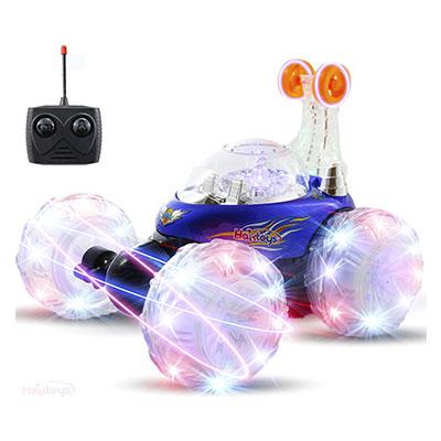 Best Remote Control Cars for Kids Invincible Tornado Acrobatic Stunt RC Car – Haktoys