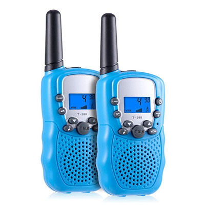 Best Outdoor Toys for 6 Year Olds Kearui Toddlers Kids 22 Channel 2 Way Radio Mini Walkie Talkies