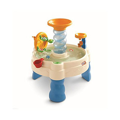 Best Toys for One Year Old Boy Little Tikes Play Table, Spiralin' Seas Waterpark