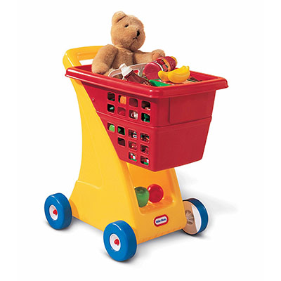 Best Toys for One Year Old Boy Little Tikes Shopping Cart - Yellow/Red