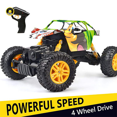 Best Remote Control Cars for Kids Rock Crawler – Double E