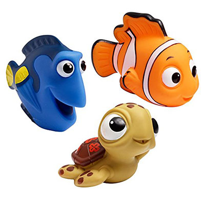 Best Bath Toys for Toddlers The First Years Disney Baby Bath Squirt Toys, Finding Nemo