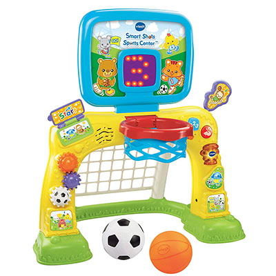 Best Toys for One Year Old Boy VTech 2-in-1 Smart Shots Basketball Hoop Sports Center