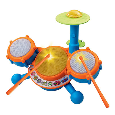 Best Toddler Drum Sets VTech KidiBeats Kids Drum Set