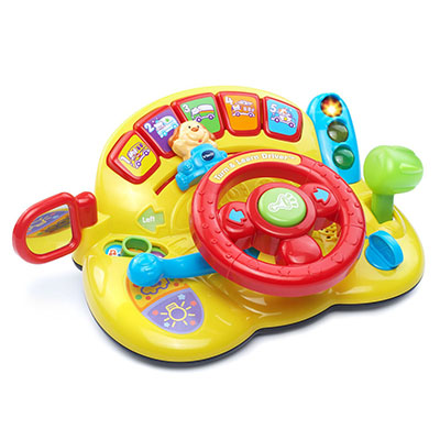 Best Toys for One Year Old Boy VTech Learn and Turn Driver