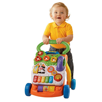 Best Toys for One Year Old Boy VTech Learning Sit-To-Stand Walker