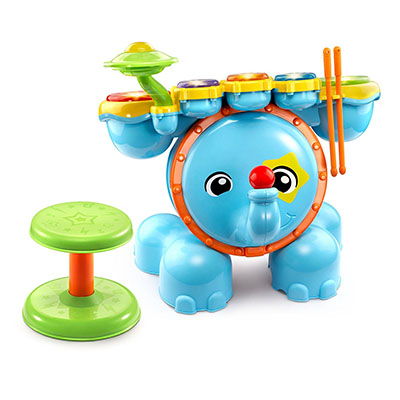 Best Toddler Drum Sets VTech Zoo Jamz Stompin' Fun Drums