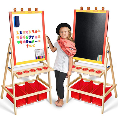 best kids easel double sided for toddlers