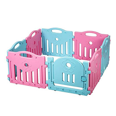 Best Playpens Baby Playpen 8 Panel Play Yard