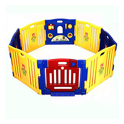 Best Playpens Costzon Baby Playpen 8 Panel Safety Gate