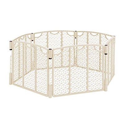Best Playpens Evenflo Versatile Play Space, Cream