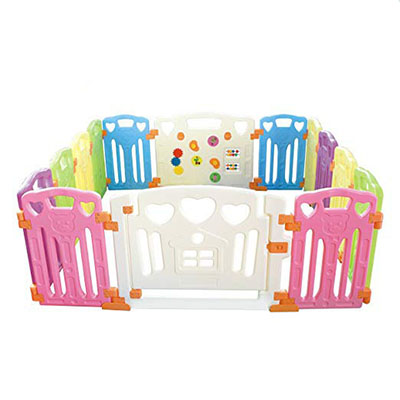 Best Playpens Gupamiga Baby playpen Kids Activity Centre Safety – 14 Panel